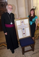 Freedom of the City & County of Swansea for the Archbishop of Canterbury. Photograph courtesy John Fry.