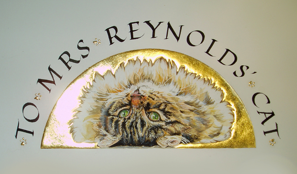 Mrs Reynolds Cat
