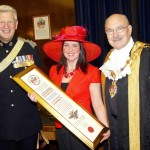Freedom of the City to The Queen's Dragoon Guards