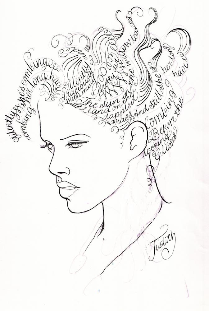 Calligraphic Head