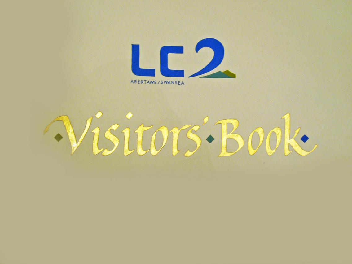 LC2 Visitors' Book